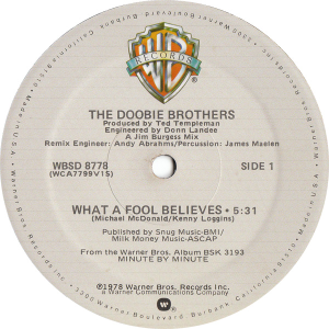 What A Fool Believes [U.S. 12_]