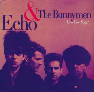 "45 RPM: Echo & The Bunnymen's ""Lips Like Sugar"" [U.S. 7″]"