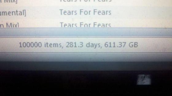 100000 Songs!