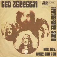 "45 RPM: Led Zeppelin's ""Immigrant Song"" [German 7″]"