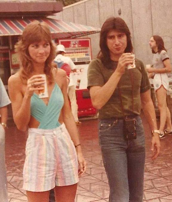 Steve Perry with Single